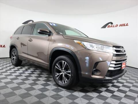 2017 Toyota Highlander for sale at Bald Hill Kia in Warwick RI