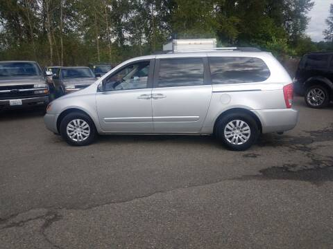 2012 Kia Sedona for sale at Bonney Lake Used Cars in Puyallup WA