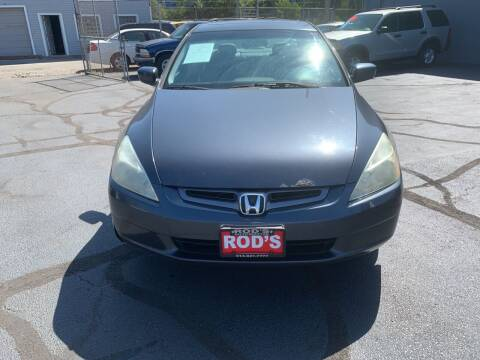 2005 Honda Accord for sale at Rod's Automotive in Cincinnati OH