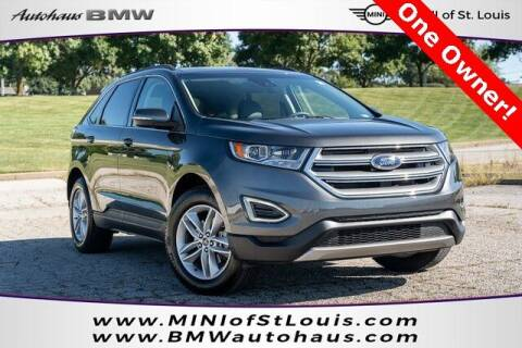 2018 Ford Edge for sale at Autohaus Group of St. Louis MO - 3015 South Hanley Road Lot in Saint Louis MO