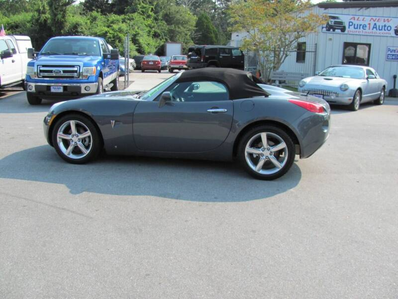 2009 Pontiac Solstice for sale at Pure 1 Auto in New Bern NC
