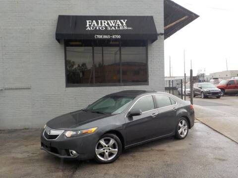 2011 Acura TSX for sale at FAIRWAY AUTO SALES, INC. in Melrose Park IL