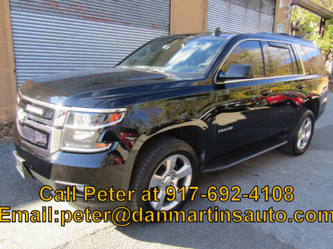 2017 Chevrolet Tahoe for sale at Dan Martin's Auto Depot LTD in Yonkers NY