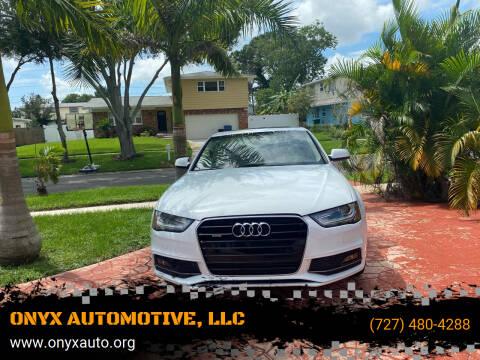 2015 Audi A4 for sale at ONYX AUTOMOTIVE, LLC in Largo FL