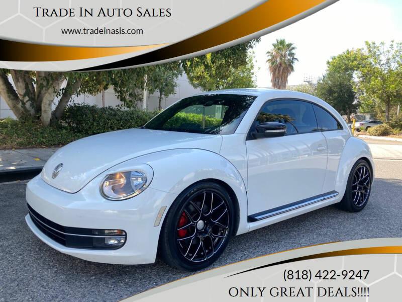 2012 Volkswagen Beetle for sale at Trade In Auto Sales in Van Nuys CA