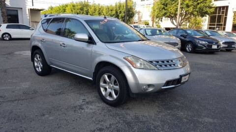 2007 Nissan Murano for sale at In-House Auto Finance in Hawthorne CA