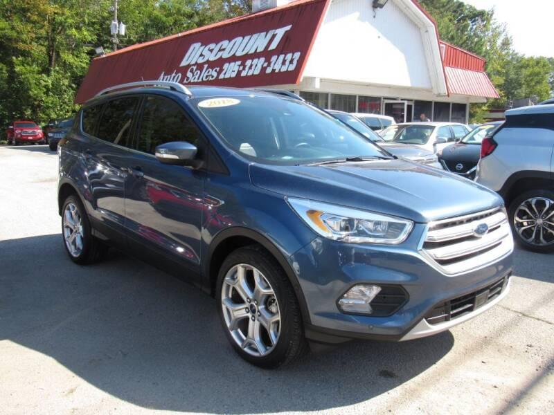 2018 Ford Escape for sale at Discount Auto Sales in Pell City AL
