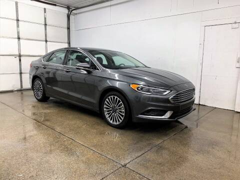 2018 Ford Fusion for sale at PARKWAY AUTO in Hudsonville MI