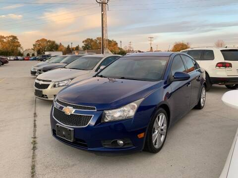 2013 Chevrolet Cruze for sale at Crooza in Dearborn MI