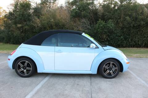 2008 Volkswagen New Beetle Convertible for sale at Clear Lake Auto World in League City TX