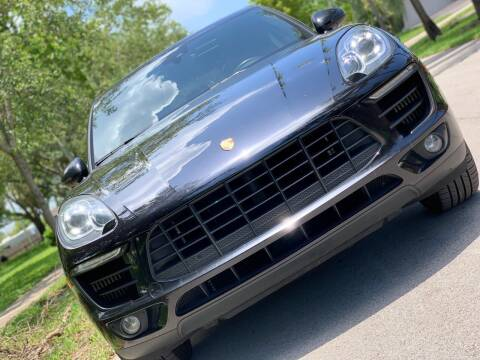 2017 Porsche Macan for sale at HIGH PERFORMANCE MOTORS in Hollywood FL