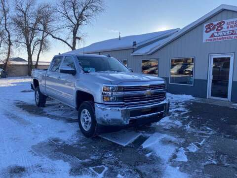 2018 Chevrolet Silverado 2500HD for sale at B & B Auto Sales in Brookings SD