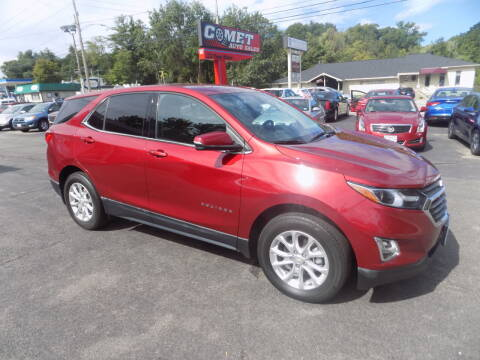 2018 Chevrolet Equinox for sale at Comet Auto Sales in Manchester NH