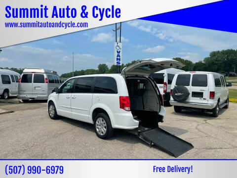 2016 Dodge Grand Caravan for sale at Summit Auto & Cycle in Zumbrota MN