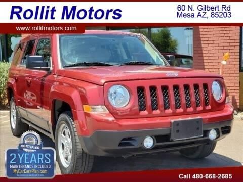 2014 Jeep Patriot for sale at Rollit Motors in Mesa AZ