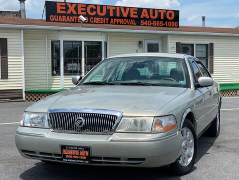 2004 Mercury Grand Marquis for sale at Executive Auto in Winchester VA