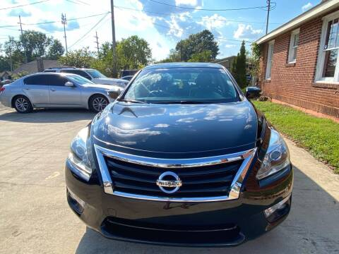 2014 Nissan Altima for sale at Shoals Dealer LLC in Florence AL