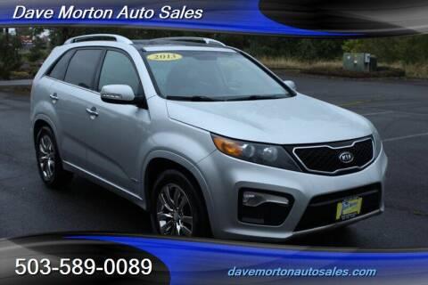 2013 Kia Sorento for sale at Dave Morton Auto Sales in Salem OR