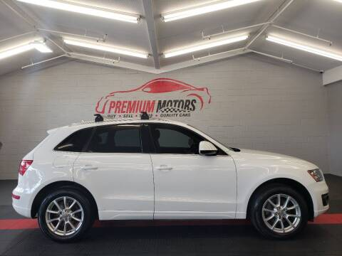 2011 Audi Q5 for sale at Premium Motors in Villa Park IL