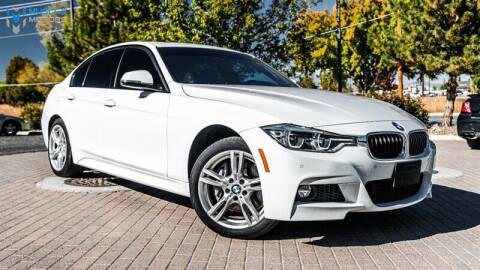 2018 BMW 3 Series for sale at MUSCLE MOTORS AUTO SALES INC in Reno NV