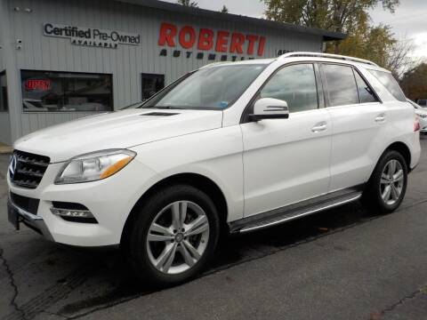 2015 Mercedes-Benz M-Class for sale at Roberti Automotive in Kingston NY