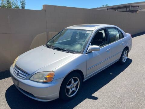 2001 Honda Civic for sale at Blue Line Auto Group in Portland OR