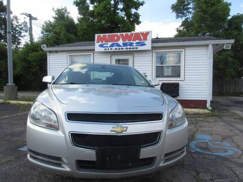2010 Chevrolet Malibu for sale at Midway Cars LLC in Indianapolis IN