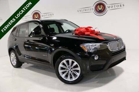 2017 BMW X3 for sale at Unlimited Motors in Fishers IN