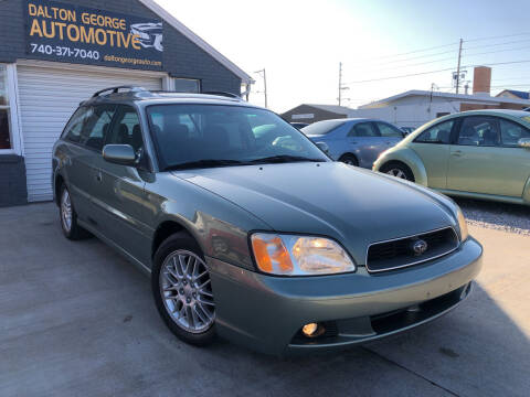 2003 Subaru Legacy for sale at Dalton George Automotive in Marietta OH
