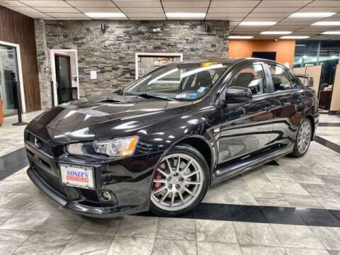 2014 Mitsubishi Lancer Evolution for sale at Sonias Auto Sales in Worcester MA