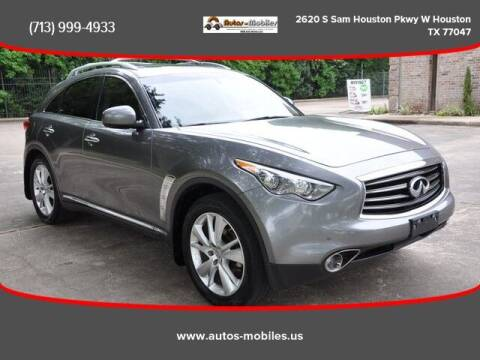 2012 Infiniti FX35 for sale at AUTOS-MOBILES in Houston TX