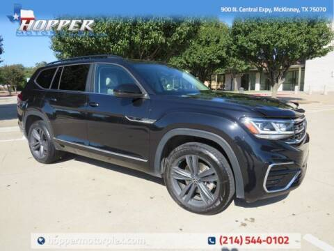 2021 Volkswagen Atlas for sale at HOPPER MOTORPLEX in Mckinney TX