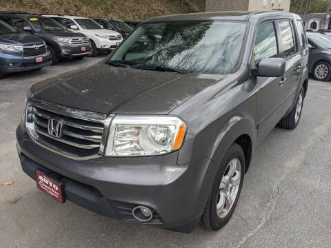 2015 Honda Pilot for sale at AUTO CONNECTION LLC in Springfield VT