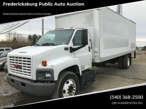 2007 GMC C7500 for sale at FPAA in Fredericksburg VA