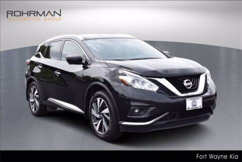 2017 Nissan Murano for sale at BOB ROHRMAN FORT WAYNE TOYOTA in Fort Wayne IN