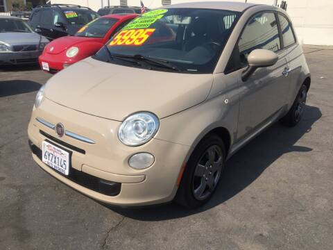 2012 FIAT 500 for sale at Oxnard Auto Brokers in Oxnard CA
