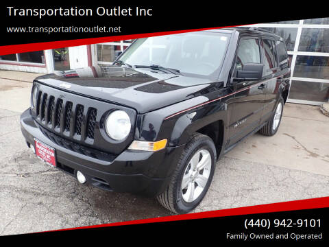 2012 Jeep Patriot for sale at Transportation Outlet Inc in Eastlake OH