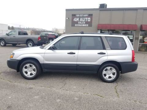2004 Subaru Forester for sale at 4M Auto Sales | 828-327-6688 | 4Mautos.com in Hickory NC
