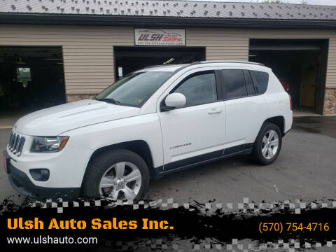 2016 Jeep Compass for sale at Ulsh Auto Sales Inc. - Pine Grove Lot in Pine Grove PA