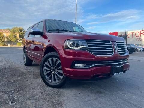 2015 Lincoln Navigator for sale at Boktor Motors in Las Vegas NV