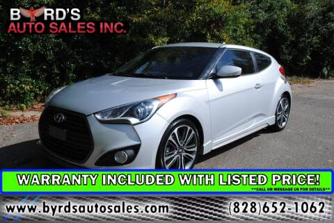 2016 Hyundai Veloster for sale at Byrds Auto Sales in Marion NC