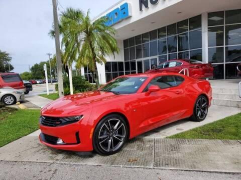 2021 Chevrolet Camaro for sale at Mazda of North Miami in Miami FL