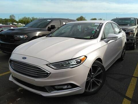 2017 Ford Fusion for sale at Cj king of car loans/JJ's Best Auto Sales in Troy MI