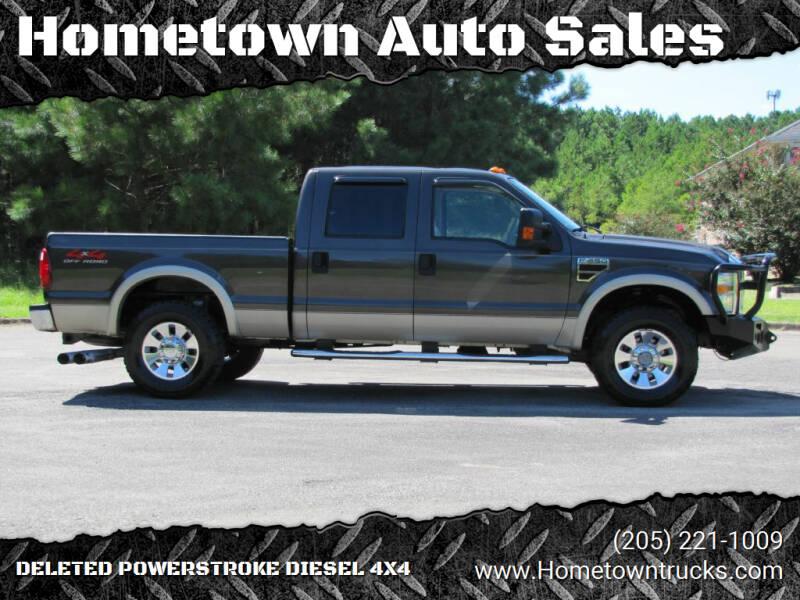 2008 Ford F-250 Super Duty for sale at Hometown Auto Sales - Trucks in Jasper AL