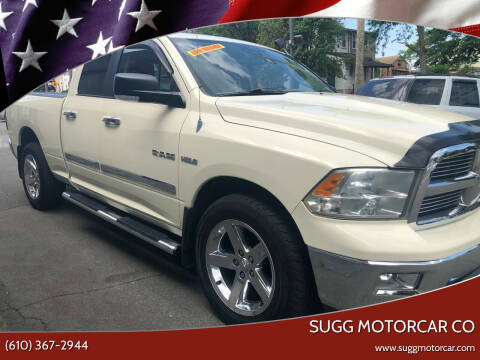 2010 Dodge Ram Pickup 1500 for sale at Sugg Motorcar Co in Boyertown PA