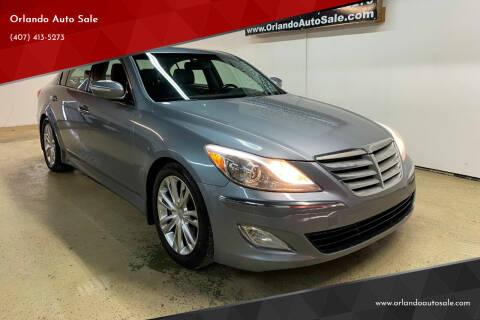 2013 Hyundai Genesis for sale at Orlando Auto Sale in Orlando FL