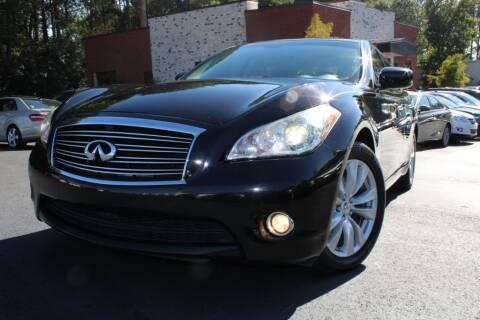 2011 Infiniti M37 for sale at Atlanta Unique Auto Sales in Norcross GA