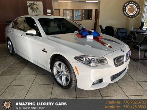 2014 BMW 5 Series for sale at Amazing Luxury Cars in Snellville GA