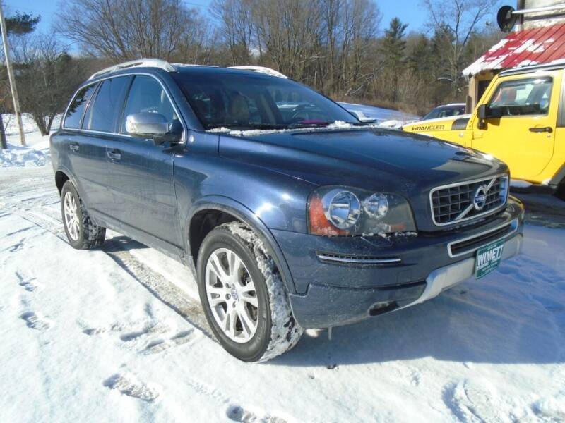 2014 Volvo XC90 for sale at Wimett Trading Company in Leicester VT