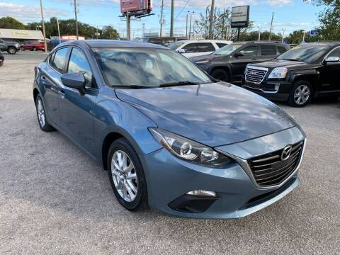 2016 Mazda MAZDA3 for sale at Marvin Motors in Kissimmee FL